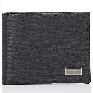 Men's Salvatore Ferragamo black wallet